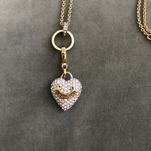 Juicy Couture Long Chain Charm Necklace